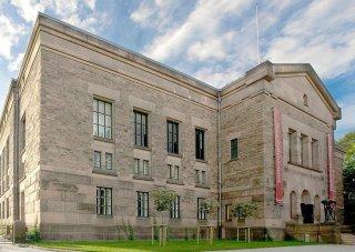 Außenansicht Gebäude National Library of Norway