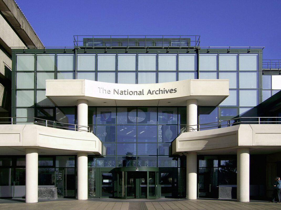 The National Archives Außenansicht Eingang