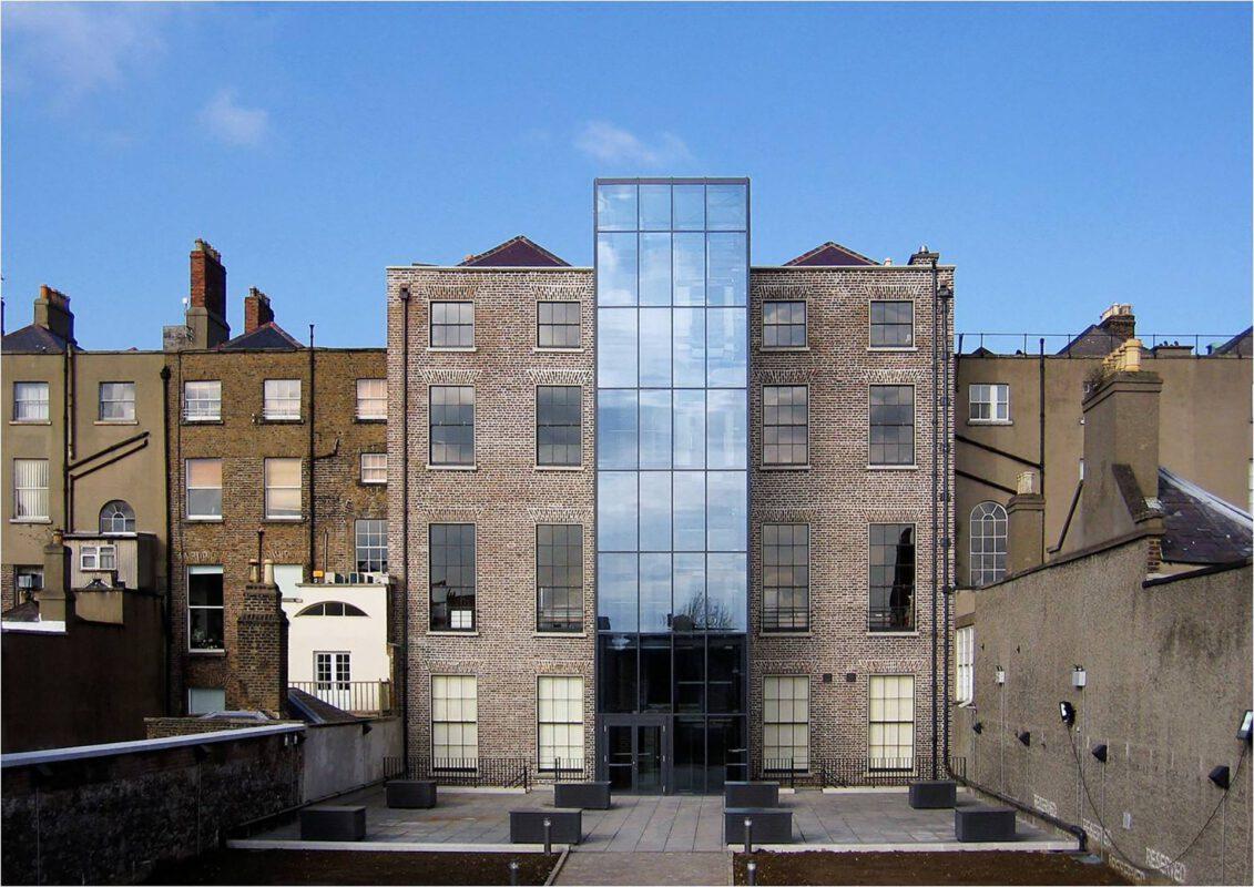 Irish Architectural Archive Außenansicht Rückseite