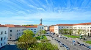 Ansicht Hauptgebäude Ludwig-Maximilians-Universität
