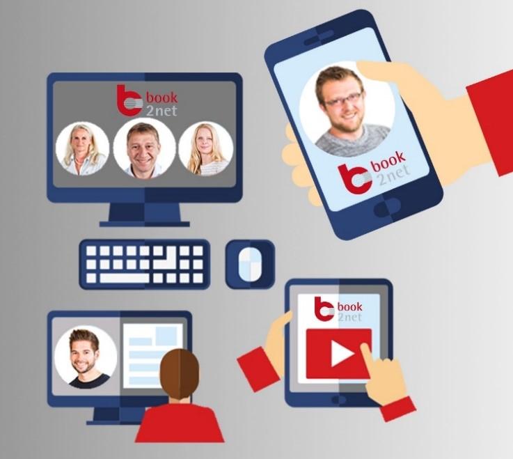 book2net Intro - Wir sind online für Sie da