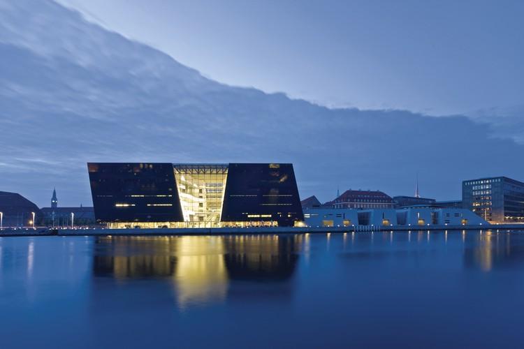 Dänische Nationalbibliothek Kopenhagen Außenansicht
