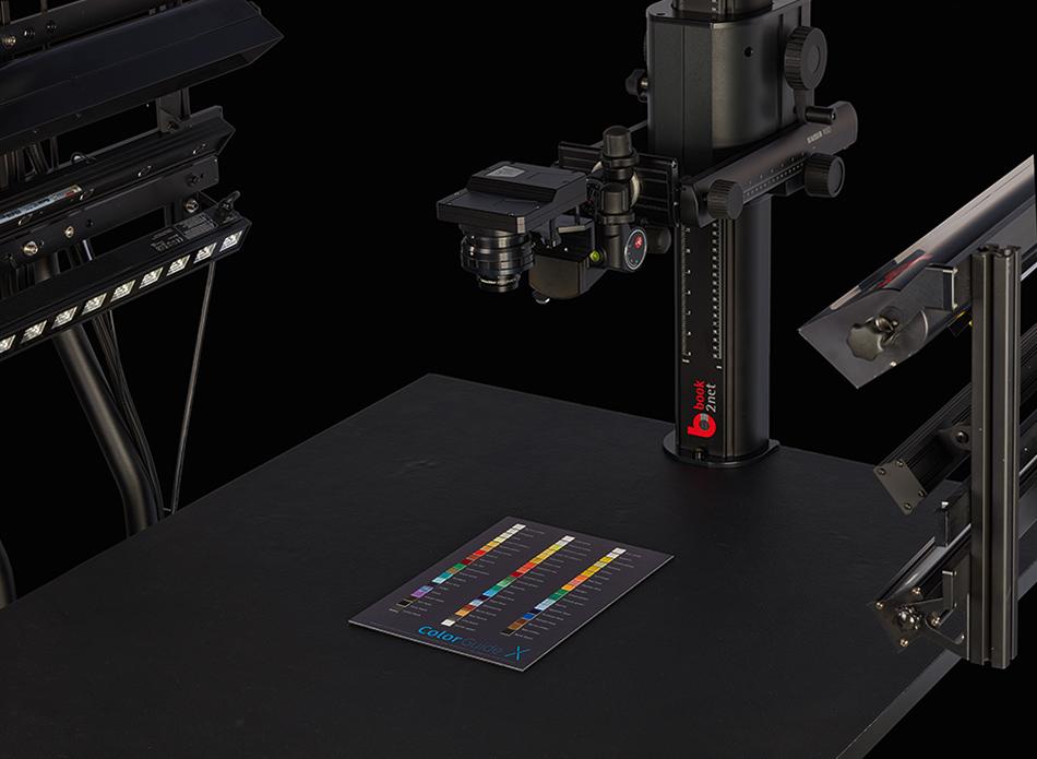 book2net Multispektral Farbabgleich