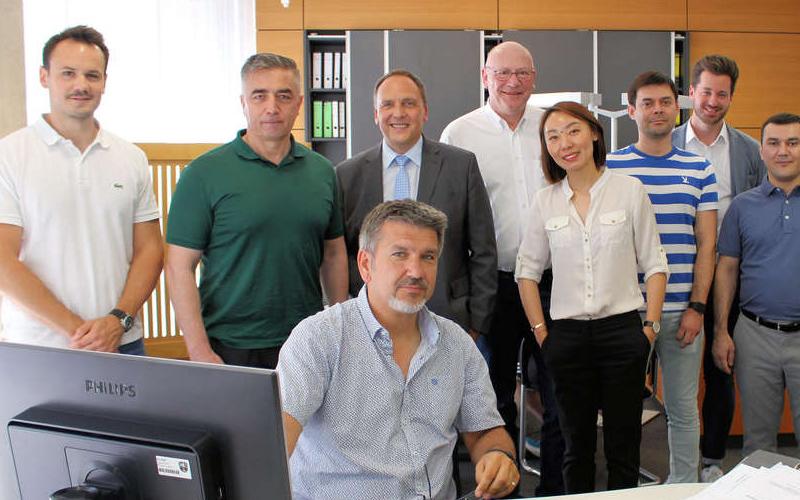 Usbekische Delegation zu Gast in Bad Nauheim