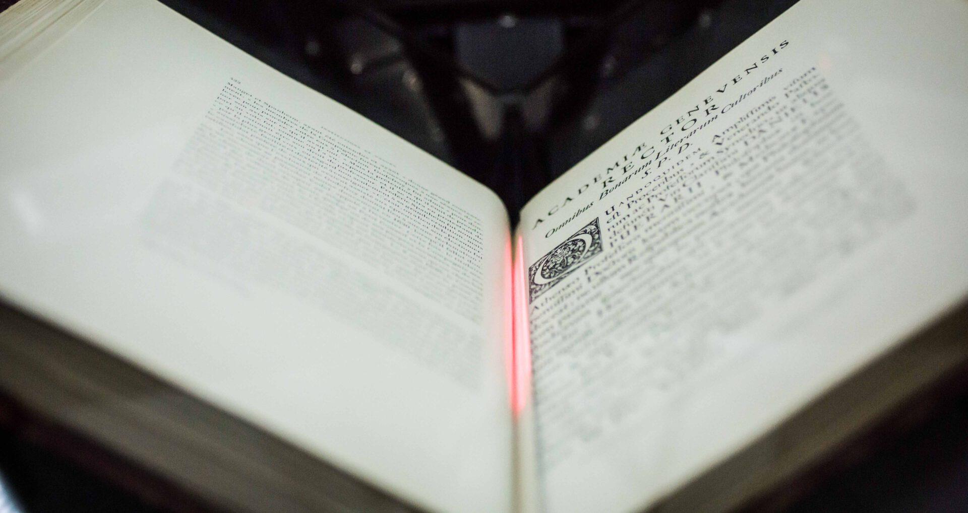 book2net Buchscanner - Tiefenschärfe