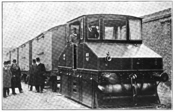 Maudsley Petrol Locomotive 1904