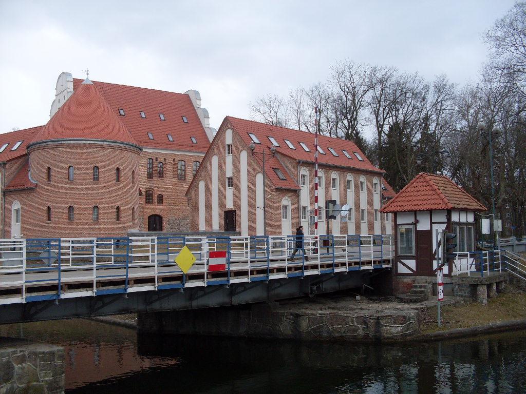 Burg Lötzen - Außenansicht