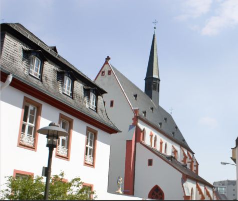 Karmeliterkloster Mainz- Außenansicht des Gebäudes