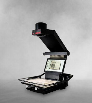 book2net Ultra A2 Buchscanner - Neue Generation mit integriertem Bildschirm